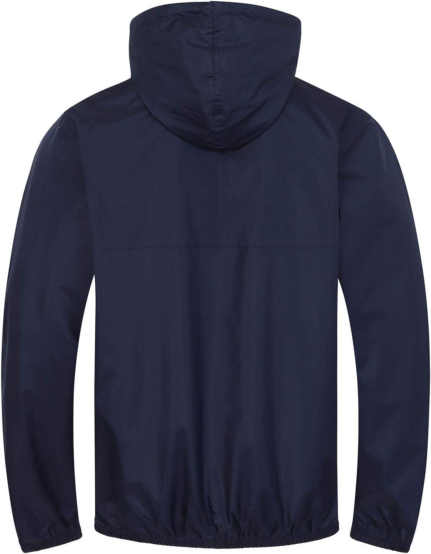 Tottenham Hotspur FC Official Football Gift Mens Shower Jacket Windbreaker