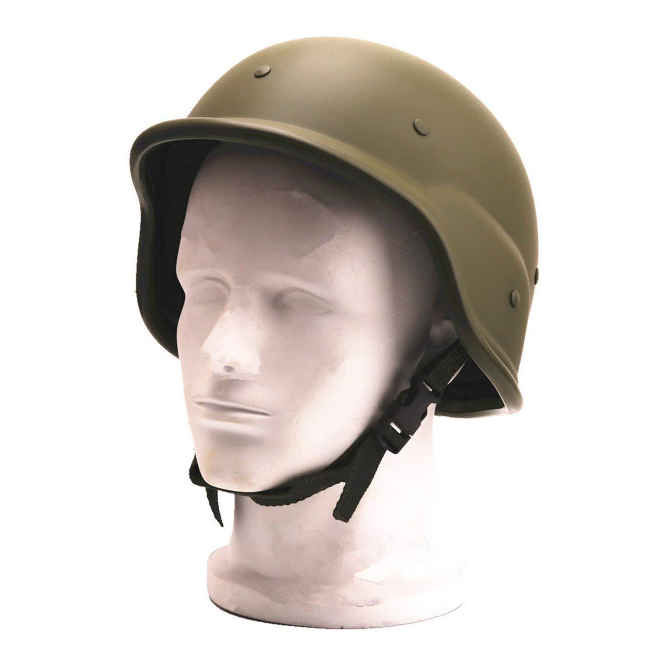 Ballylelly Casco de Camuflaje de pl/ástico ABS M88 T/ácticas al Aire Libre CS Tactical Militar Army Combat Motos Cascos de Moto