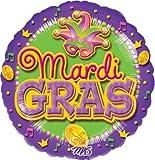 Mardi Gras Coins Balloon - 5 Pieces