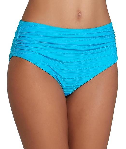 cc04a231260a6 Fantasie San Sebastian Deep Gathered Bikini Brief in Azure (FS6283)  Sizes  S-XXL   Amazon.co.uk  Clothing