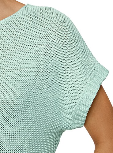 Basic Verde con Maglione oodji 6500n Manica Ultra Donna Corta t0tqxS7