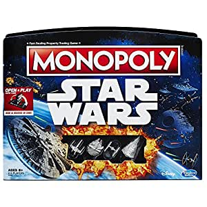 Hasbro Monopoly Game: Star Wars Edition