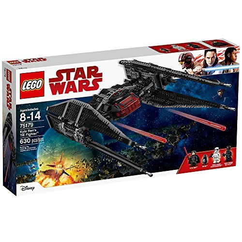 LEGO Star Wars Episode VIII Kylo Ren's Tie Fighter 75179 Building Kit (630 - Star Lego Wars Kit