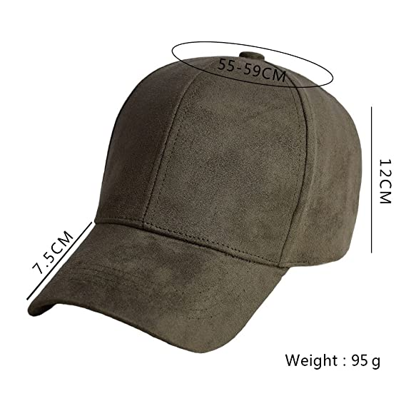 45043becba5 Snapback Suede Baseball Cap Fashion Sportcap Hip Hop Flat Hat For Women  Adjustable Solid color Hats at Amazon Women s Clothing store