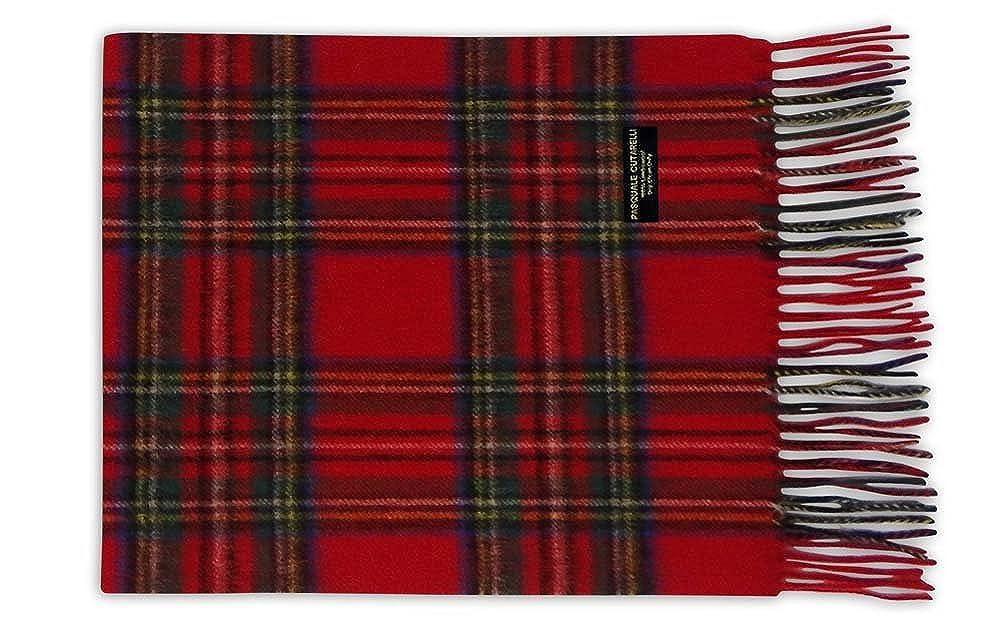 Pasquale Cutarelli Unisex Wool Royal Stewart Tartan Scarf (ROYSTEW-W)