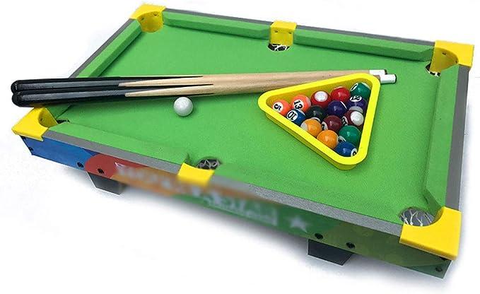Jiamuxiangsi- Juguetes - Billar Billar pequeño Juguetes Mini Mesa de Billar - Juguetes educativos - Regalos para niños y niñas - 1-3-5-7-9 -Juegos Inteligentes (Color : Verde): Amazon.es: Hogar