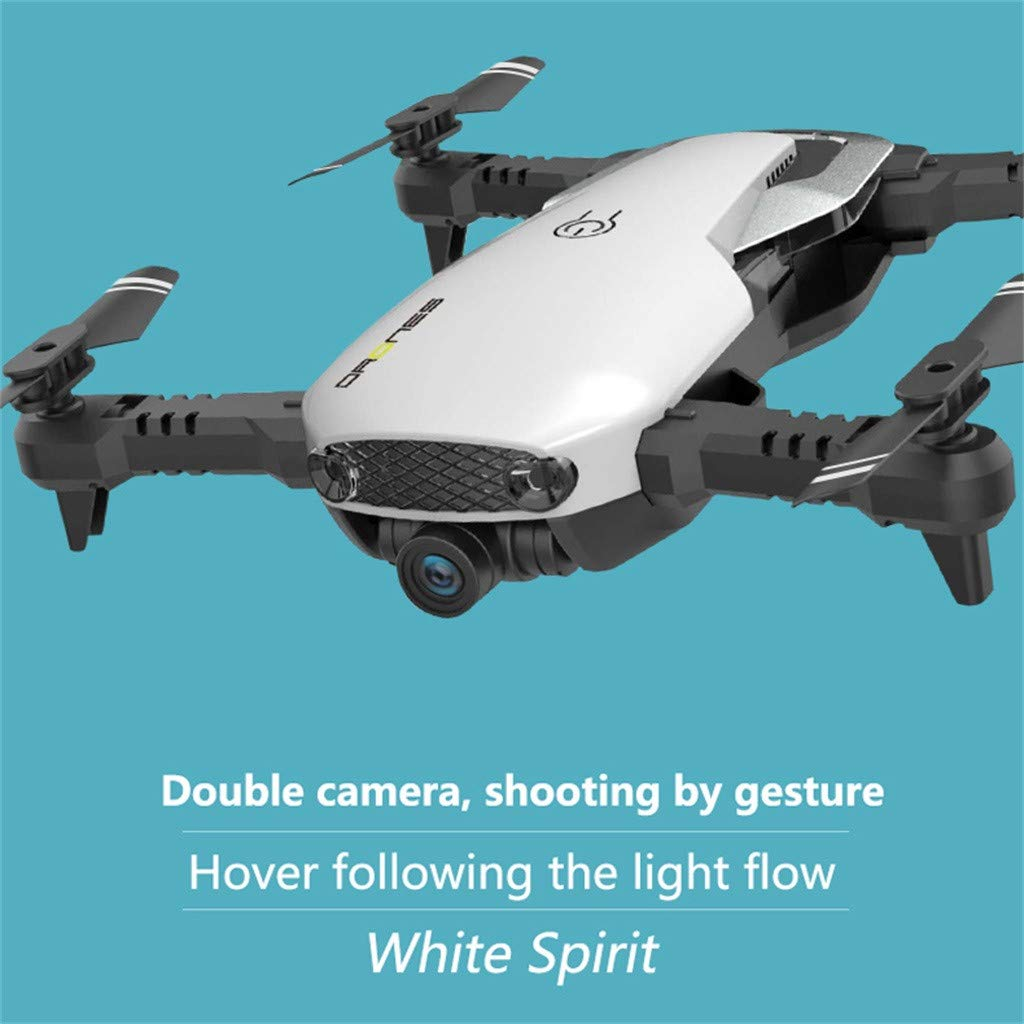 MOZATE H2 2.4Ghz 4CH WiFi FPV Optical Flow Dual 720P HD Camera RC Quadcopter Drone (AS Show) by MOZATE (Image #3)