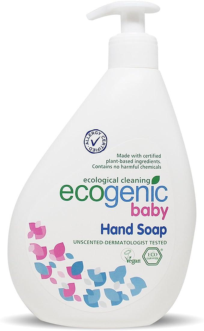 Ecogenic Baby fluidos Jabón de manos, 500 ml, biodegradable (1 x ...