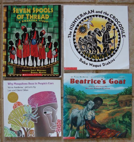 African Tales: Set of 4 Children