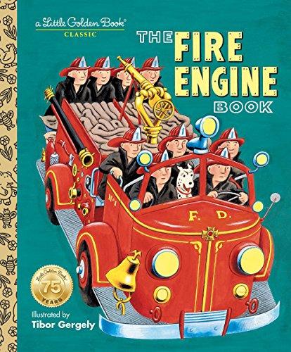 The Fire Engine Book (Little Golden Book) (Fire Classic Bookends Truck)