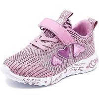 Mitudidi Zapatillas de deporte unisex para niños, transpirables, ligeras, para correr, para interiores, para actividades…