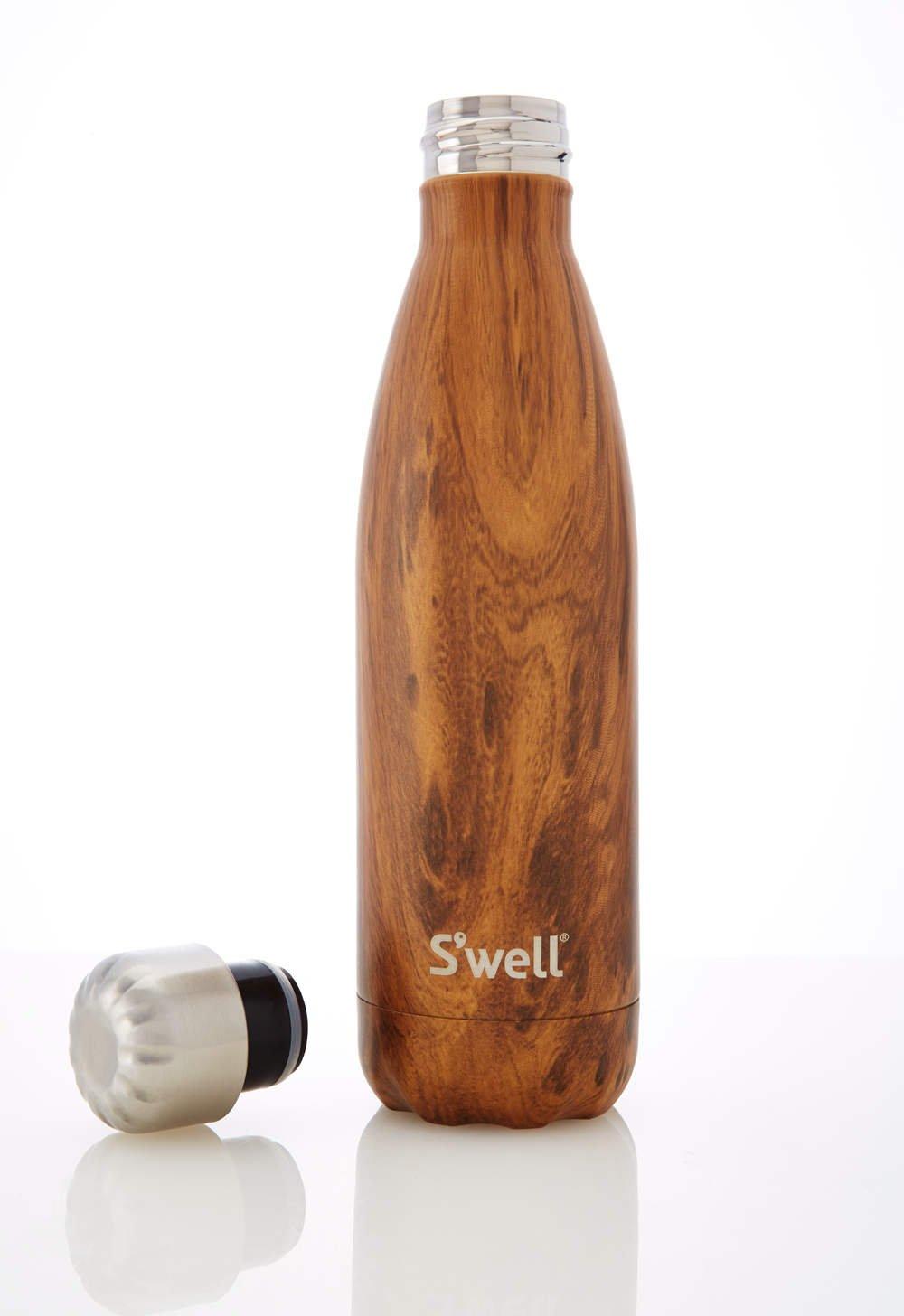 S'well Teakwood Water Bottle, 17 oz. by S'well (Image #3)