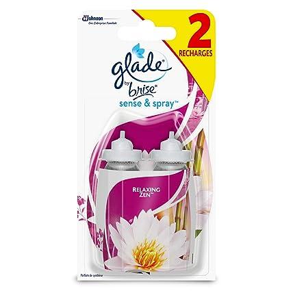 Glade by brise Set de 2 recambios para difusor Sense & Spray Fraîcheur/ ambientador en