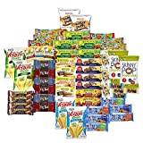 Healthy Munchie Mix - Care Package (55 Count) Snack Box – Variety Assortment with Bars and Crunchy Snacks – Gift Box Sweet & Salty Healthy Snacks for Lunches, College Students and Office Kid Parties