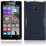 Microsoft Lumia 435 Case, Terrapin Étui Coque en Gel TPU pour Microsoft Lumia 435 Coque - Clear