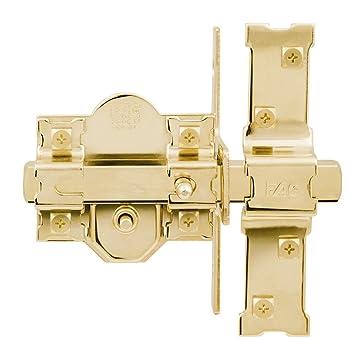 FAC 946-RP/80 - Cerrojo UVE, acabado dorado: Amazon.es: Bricolaje y herramientas