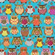 Owlie Gift Wrap Paper Flat Sheet 24\