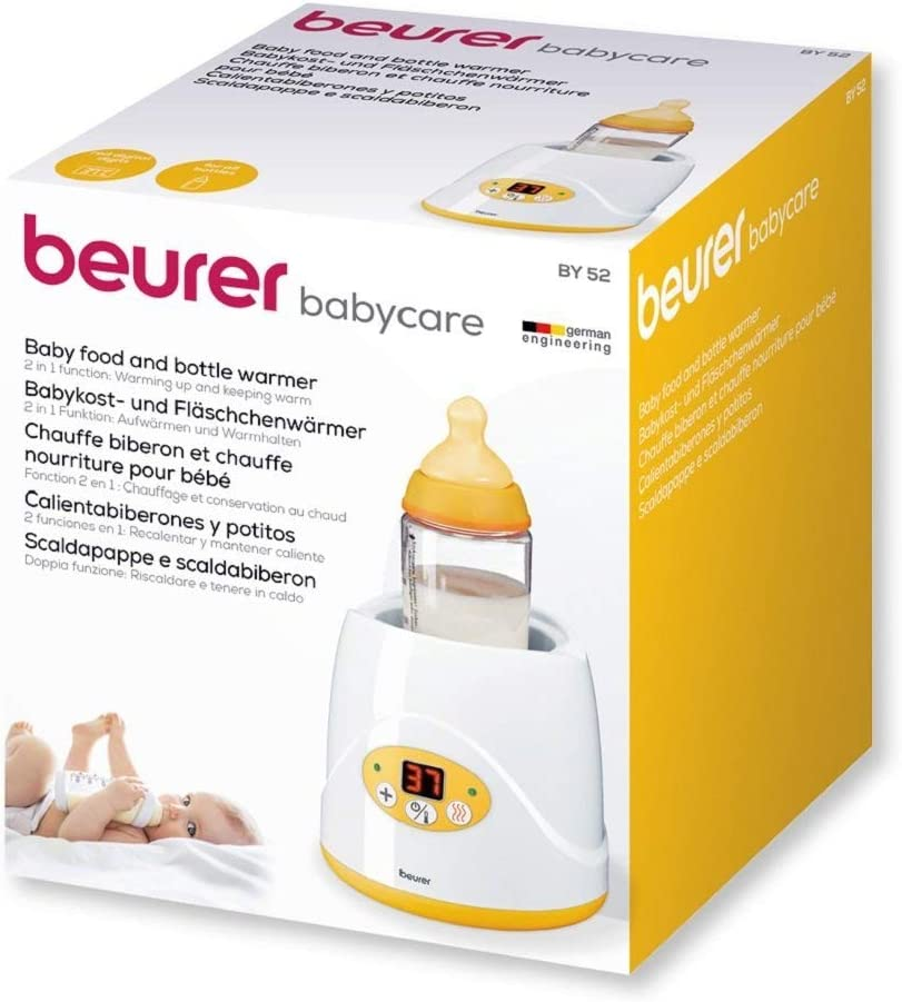 Beurer BY52 - Calienta biberones y calienta potitos digital, color ...