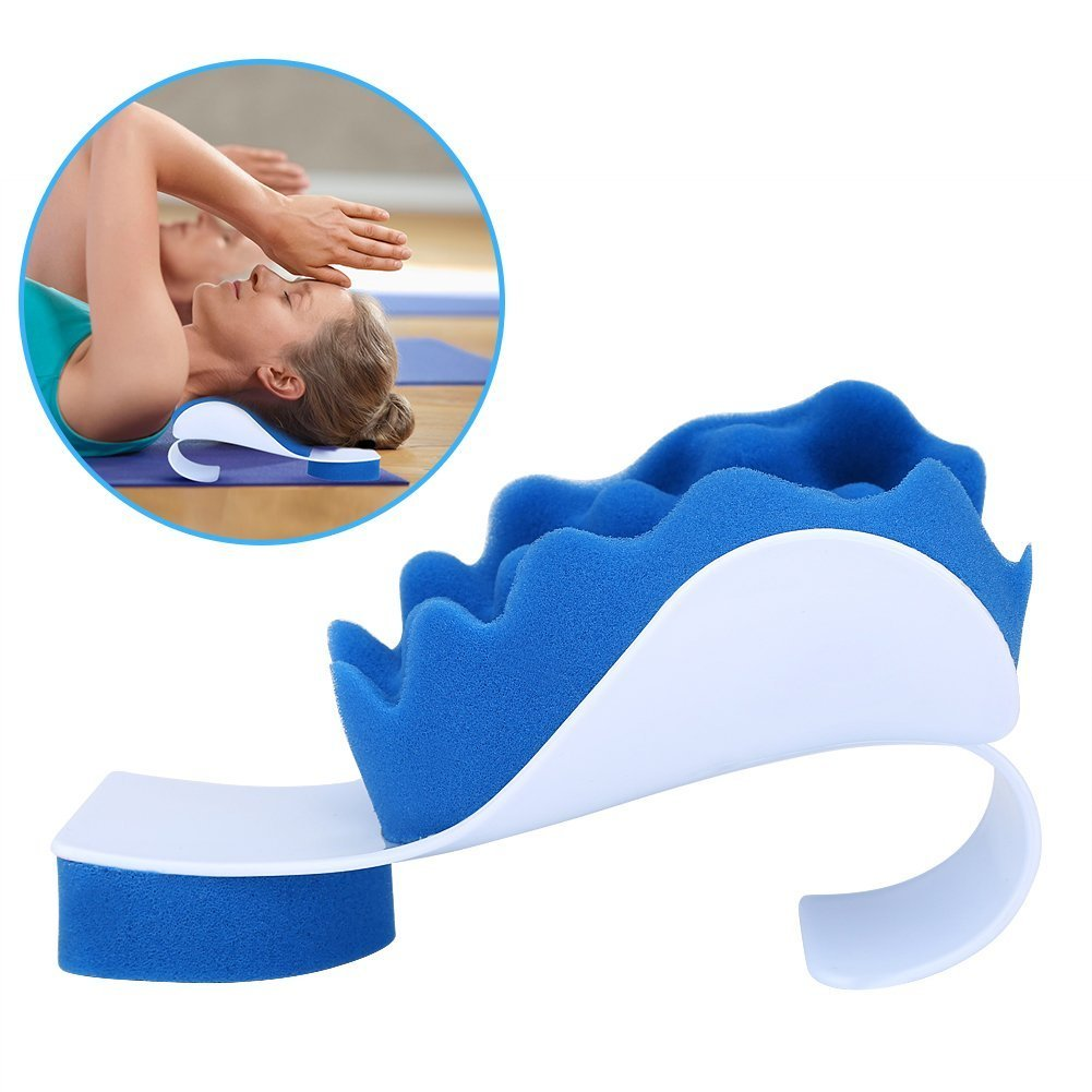 SoarUp Neck Pain Ergonomic Pillow, Neck Pillow Relieves Stress, Back, Neck, and Sciatic Pain Neck Shoulder Back Spine Relaxing Ease Massage Support