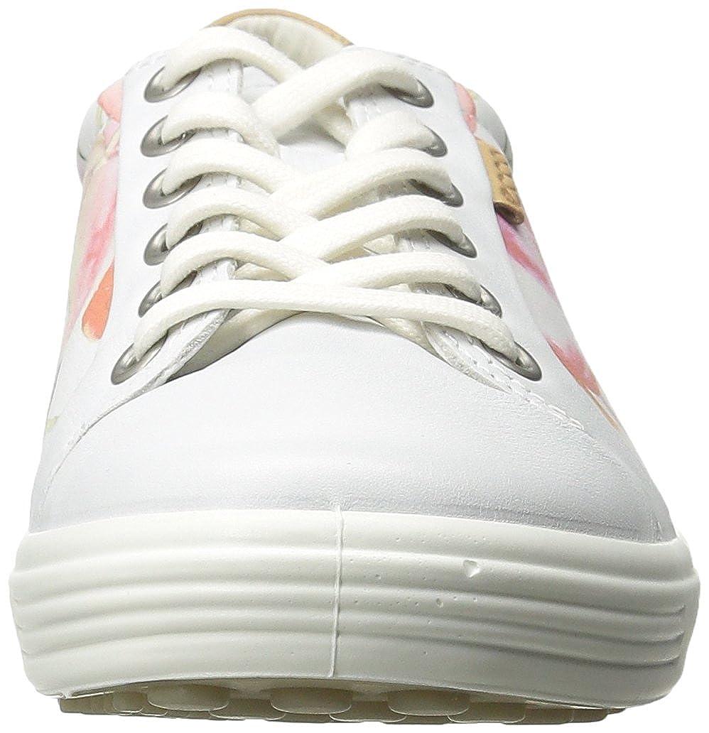 Ecco Soft 7 Ladies Damen Turnschuhe Weiß (Weiß (Weiß (Weiß FLORAL PRINT Weiß POWDER59768) 38 EU (5 Damen UK) c43aff