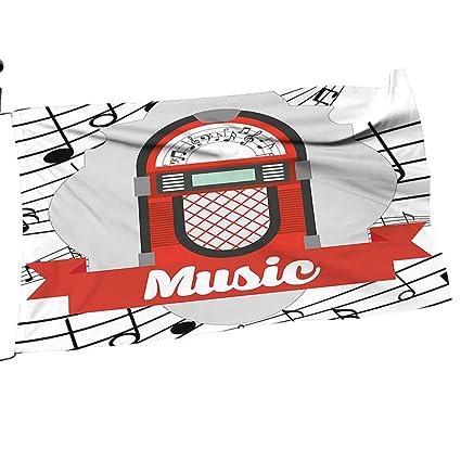 Amazon com : painting-home Garden Flag Arbor Music Radio Box