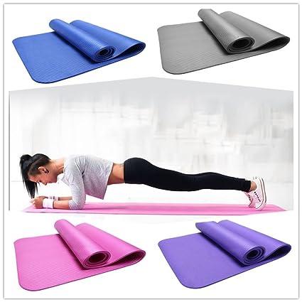 Amazon.com: 10MM Thick Non Slip Yoga Mat Lightweight ...