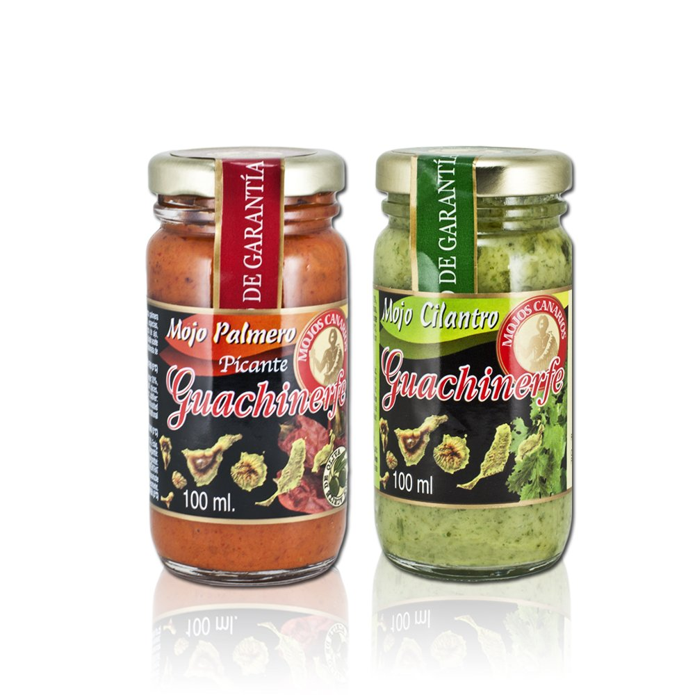 Amazon.com : Canary Islands Mojo & Almogrote Sauces Variety Pack, 4 X 1.4 Oz : Grocery & Gourmet Food