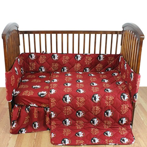 College Covers Florida State Seminoles 5 Piece Baby Crib Set from College Covers