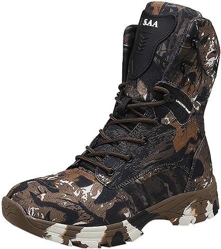 MCYs Chaussures de Randonnée Hautes Homme, Bottes de