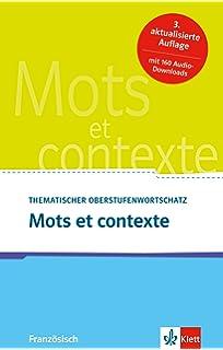 Phrases Clés Pour Lécrit Et Loral Französischer Wortschatz Für