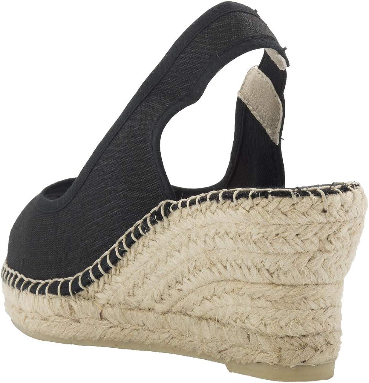 2 Espadrilles - Alpargatas Sandalias Mujer Fabricadas a Mano en España Espadrilles Esparto Zapato para Mujer Tacón Gala: Amazon.es: Zapatos y complementos