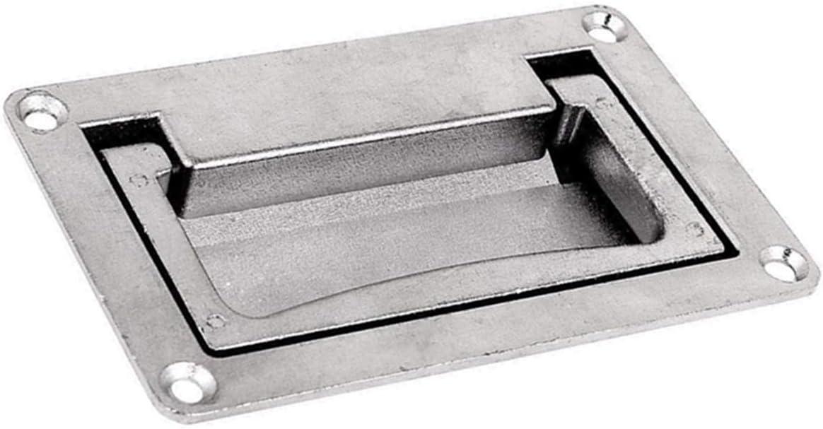 Door Drawer 11cm x 7cm Recessed Flush Sliding Carry Pull Handle