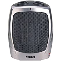 OPTIMUS H-7004 Portable Ceramic Heater with Thermostat - THREE YEAR Warranty
