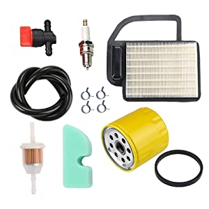 Hilom 20 083 02-S Air Filter Tune Up Kit for Kohler SV470 SV471 SV480 SV530 SV540 SV541 SV590 SV591 SV600 SV601 SV610 SV620 Engine Craftsman 24642 Ariens 21541600 Cub Cadet Toro Lawn Mower Tractor
