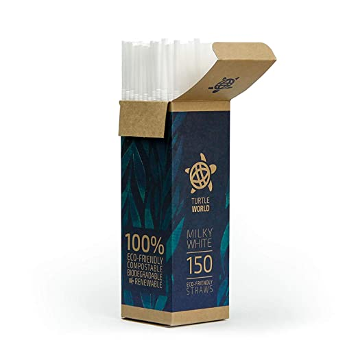 Turtle World Eco-Friendly Biodegradable Drinking Straws │ Plant ...