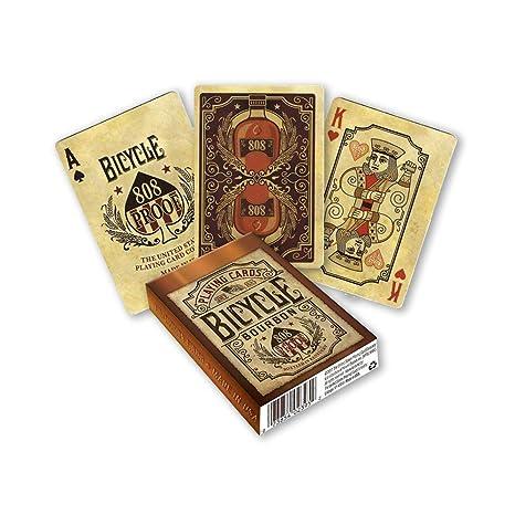 Fournier Baraja Poker Bicycle Bourbon, Juegos de Cartas ...