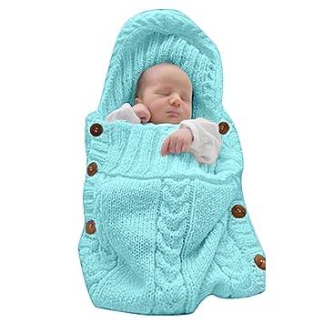 Amazon Com Xmwealthy Newborn Baby Wrap Swaddle Blanket Knit