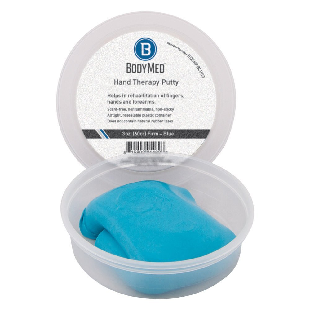 Body Sport Therapy Putty 4oz Blue - Firm Resistance