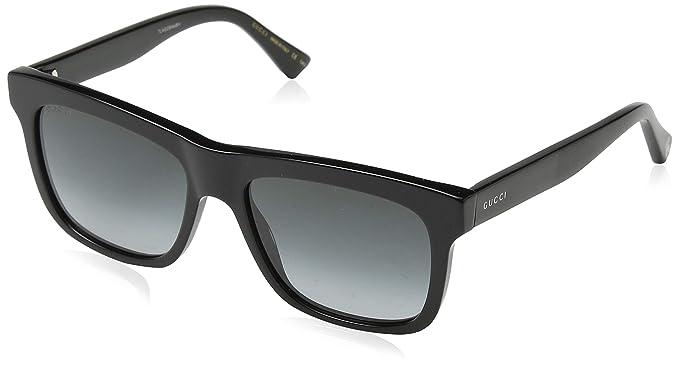a73ac25e60608 Gucci GG0158S BLACK GREY SHADED unisex Sunglasses  Gucci  Amazon.ca ...