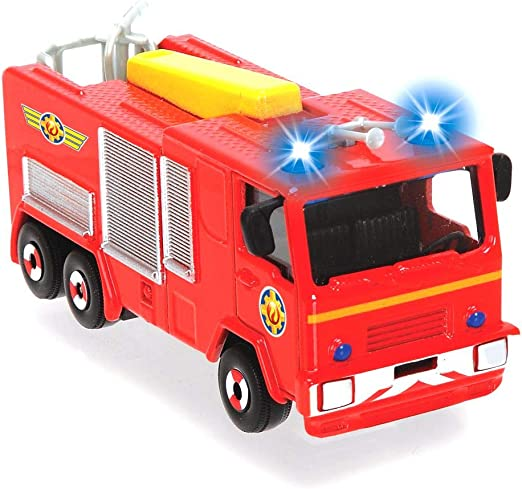 Feuerwehrman Sam Born to Play FS022 Set mit 5 beweglichen Figuren Born to Play