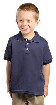 afd059e53 Amazon.com: Rabbit Skins Toddler 5.5 oz. Jersey Golf Shirt - NAVY ...