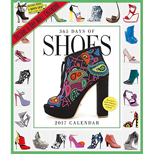 365 Days of Shoes 2017 Picture-A-Day Wall Calendar