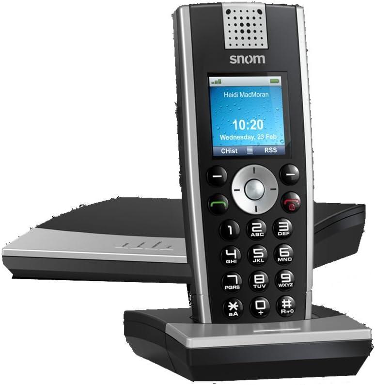 Snom M9R - Teléfono IP DECT, base de carga y repetidor: Amazon.es: Electrónica