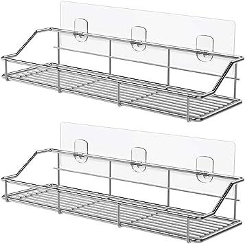 Amazon.com: ODesign SUS304 - Estante de baño adhesivo ...