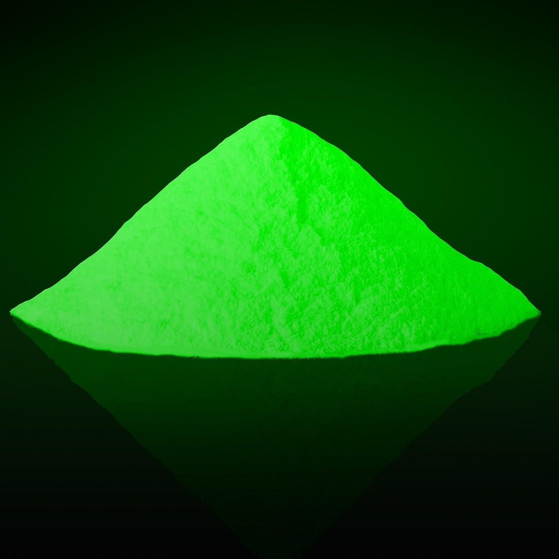 Sfxc® Glow in the Dark Photoluminescent pigmenti 100g–High Grade Stronzio alluminato