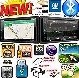 2006-2016 GM CHEVY BUICK GMC HUMMER PONTIAC SATURN Double Din DVD CD GPS Navigation Bluetooth Radio Stereo