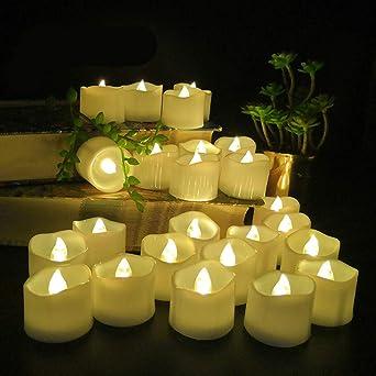 wangZJ Luz de vela sin llama/vela/boca de onda/vela electrónica de ...