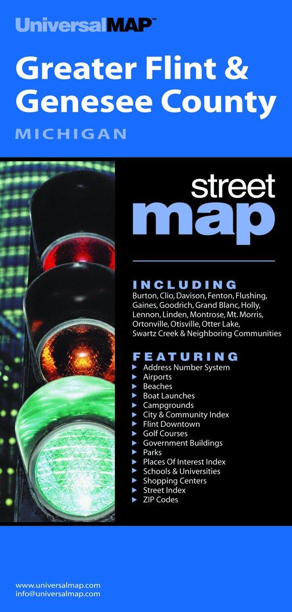 Flint Greater MI (City & County Folding Map) pdf