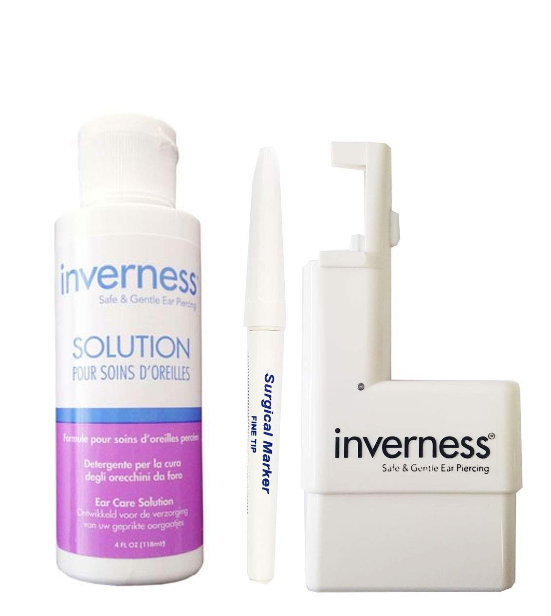 Amazon.com: Inverness Kit – Oreja Piercing Instrumento ...