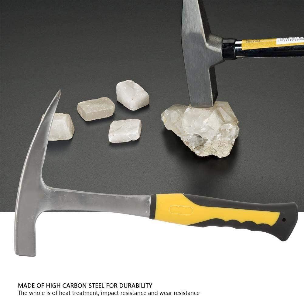Marteau /à bec de canard en brique denqu/ête Marteau /à bec de canard en brique /à double t/ête /à bouche plate pour enqu/ête g/éologique S